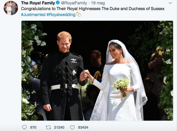 Harry, Meghan e la decaduta del Matrimonio Reale