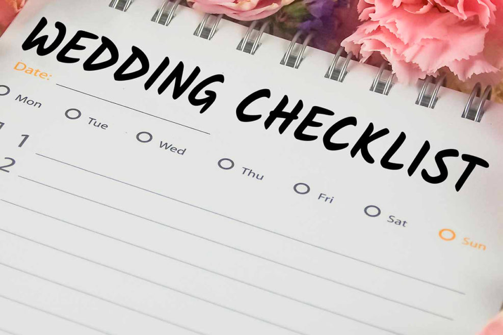 I PREPARATIVI DEL MATRIMONIO: ecco cosa fare mese per mese.